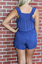 Ya Los Angeles Ruffled Bethany Romper - Side cropped