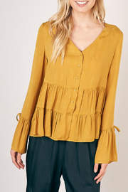 Mustard Seed Ruffled blouse - Product Mini Image