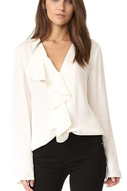 Theory Ruffled Blouse - Product Mini Image
