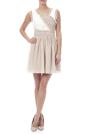 Minuet Ruffled Dress - Front full body