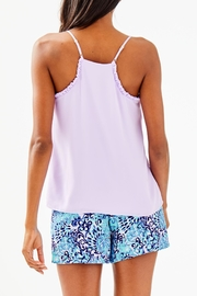 Lilly Pulitzer Ruffled Dusk Top - Front full body