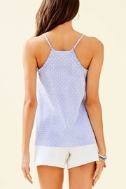 Lilly Pulitzer Ruffled Dusk Top - Back cropped