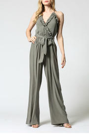 FATE by LFD Ruffled edge jumpsuit - Product Mini Image