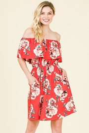 Olivia Pratt Ruffled Floral Dress - Product Mini Image