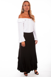 Scully  Ruffled Gourd skirt - Product Mini Image