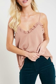 Wishlist Ruffled Hem Camisole - Side cropped