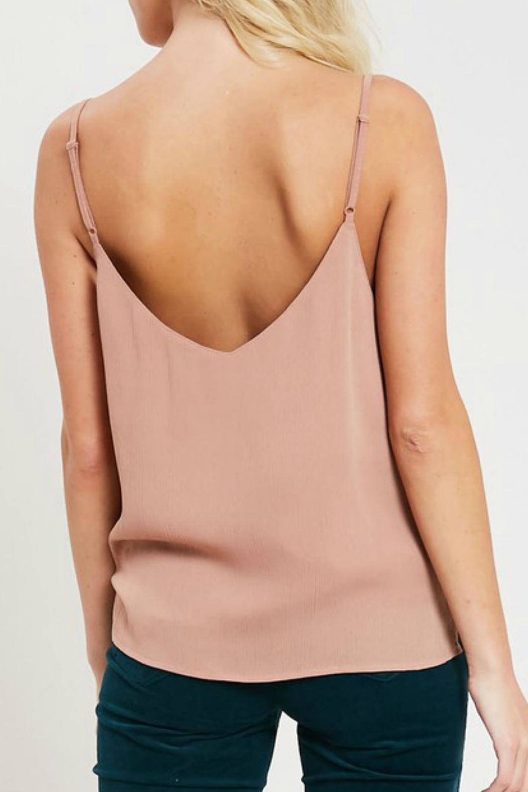 Wishlist Ruffled Hem Camisole - Back Cropped Image