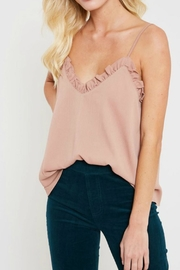 Wishlist Ruffled Hem Camisole - Front cropped