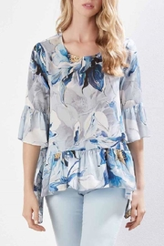 Karen Kane Ruffled Hem Top - Product Mini Image