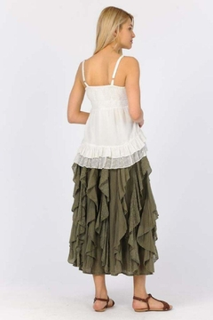 Apparel Love Ruffled Maxi Skirt - Product List Image