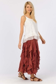 Apparel Love Ruffled Maxi Skirt - Front cropped