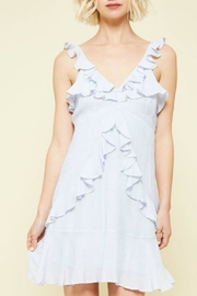 ALB Anchorage Ruffled Mini Dress - Front cropped