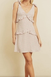 dress forum Ruffled Mini Dress - Product Mini Image