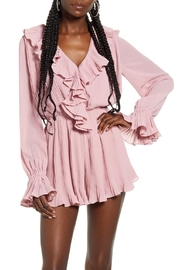 Endless Rose Ruffled Pleat Romper - Front cropped