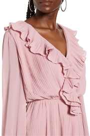 Endless Rose Ruffled Pleat Romper - Back cropped