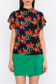Jealous Tomato Ruffled Sleeve Blouse - Product Mini Image