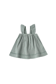 Quincy Mae Ruffled Tank Dress - Front cropped