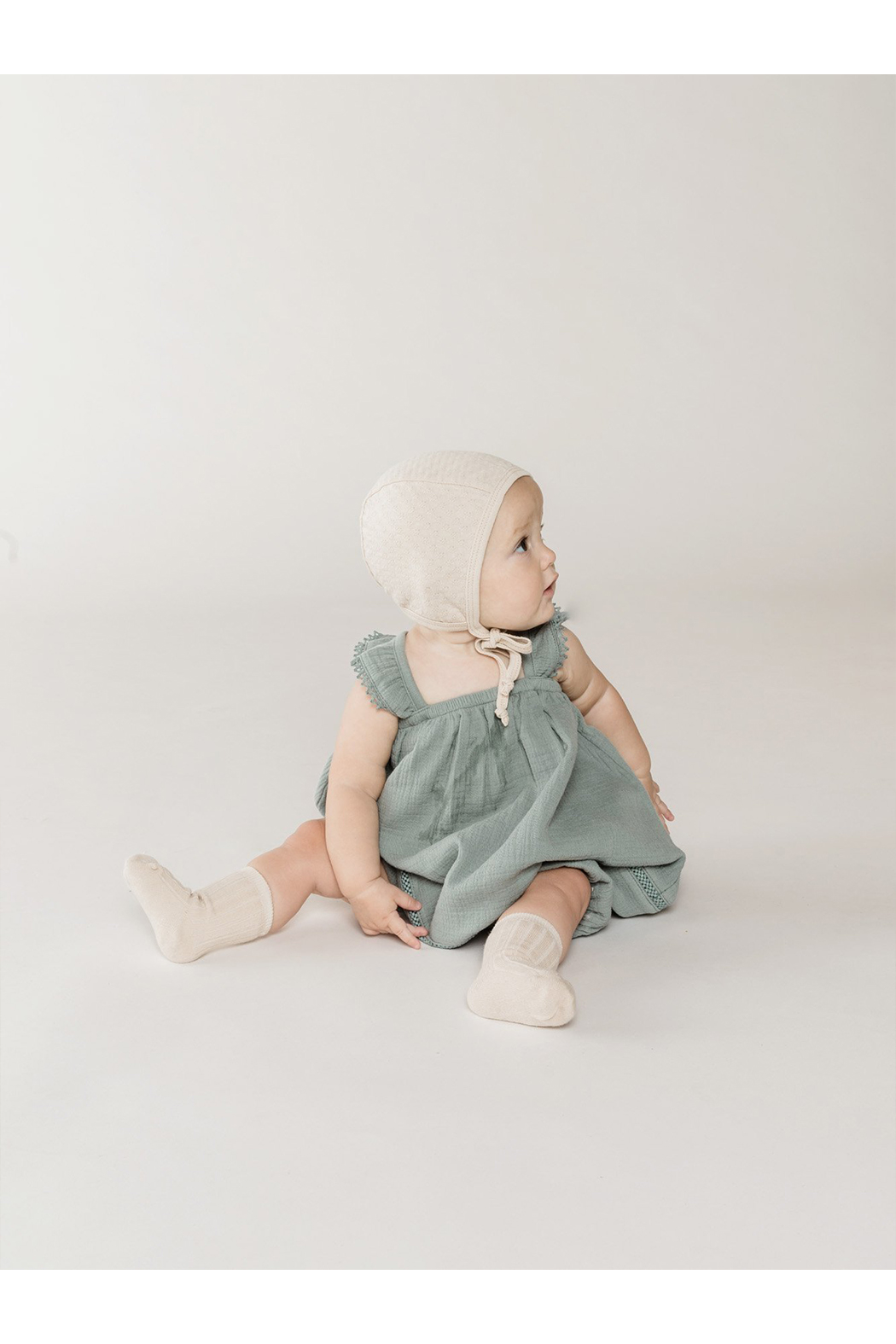Quincy Mae Ruffled Tank Dress - Front Full Image