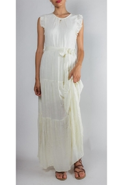 Easy DIY Edwardian Titanic Costumes 1910-1915 Ruffled Tie-Waist Maxi-Dress $62.00 AT vintagedancer.com