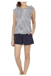 Joy Joy Ruffles Checkered Top - Product Mini Image