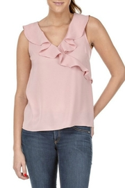 Jade Ruffles Shell - Front cropped