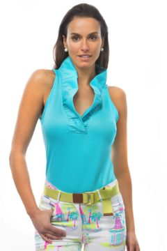 Gretchen Scott  Ruffneck Sleeveless Top - Product List Image