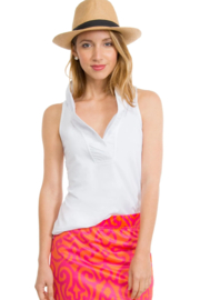 Gretchen Scott  Ruffneck Sleeveless Top - Product Mini Image