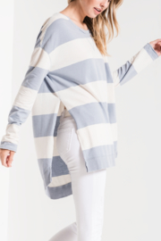 z supply Rugby Stripe Weekender - Front cropped