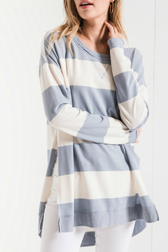 Shoptiques Product: Rugby Stripe Weekender Top