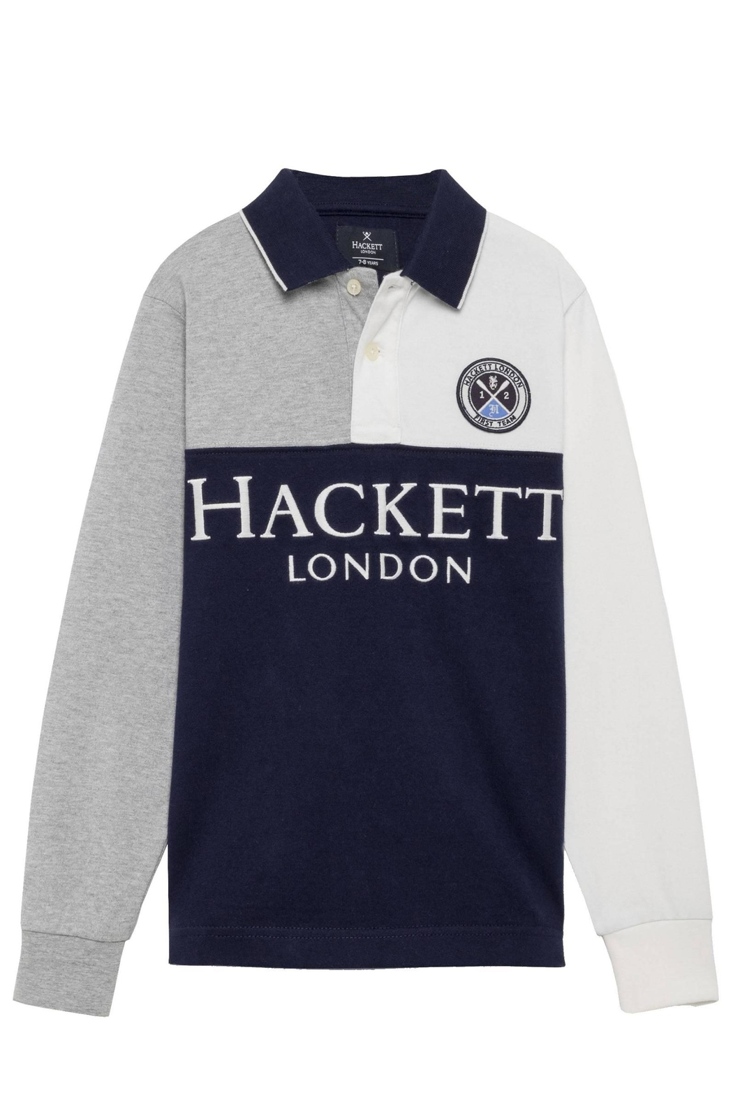 Hackett Rugby Top. - Front Cropped Image