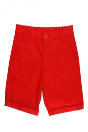 RuggedButts Red Chino Shorts - Front full body