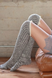 Ruggine Lace Top Sock - Product Mini Image