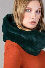Ruggine Plush Infinty Scarf - Front cropped