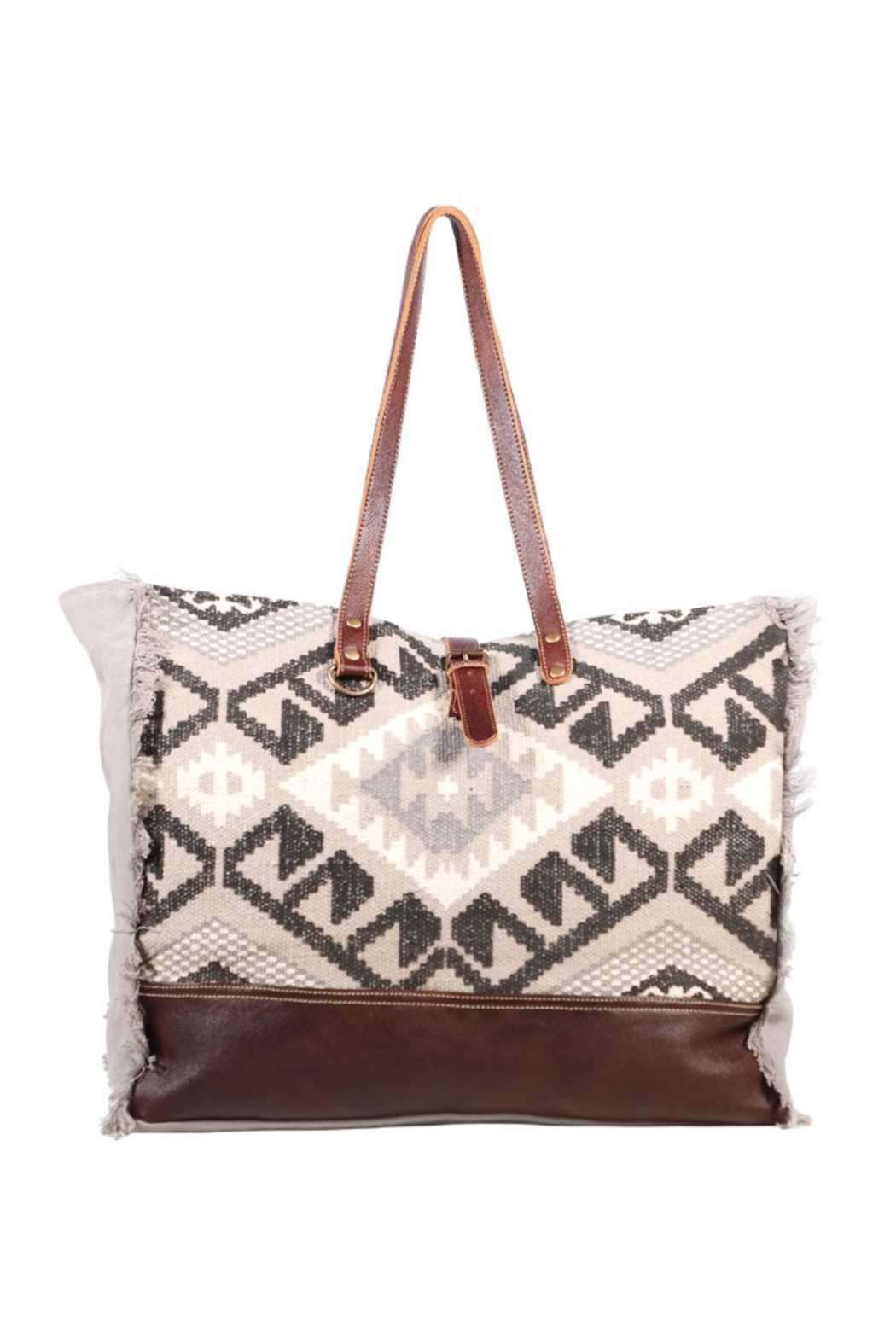 Myra Bags Rugsy Weekender Bag - Front Cropped Image