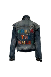 HIPCHIK  Rules Denim Jacket - Front cropped