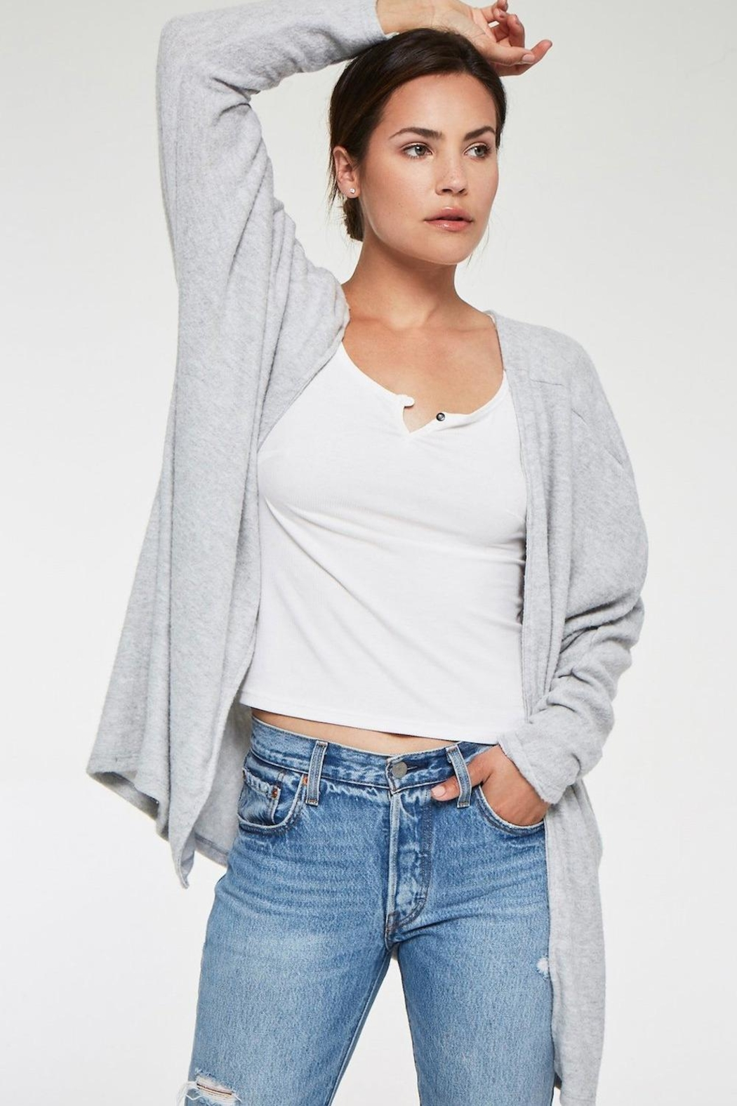 Project Social T Rumine Cozy Cardigan - Side Cropped Image