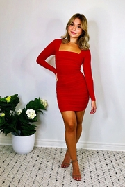 Rumor Angelina Mini Dress - Front cropped