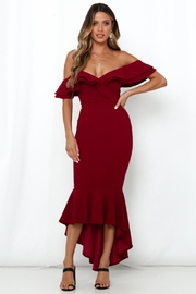 Rumor Branca Midi Dress - Product Mini Image