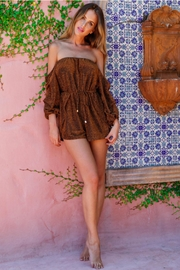 Rumor Cabana Playsuit - Product Mini Image