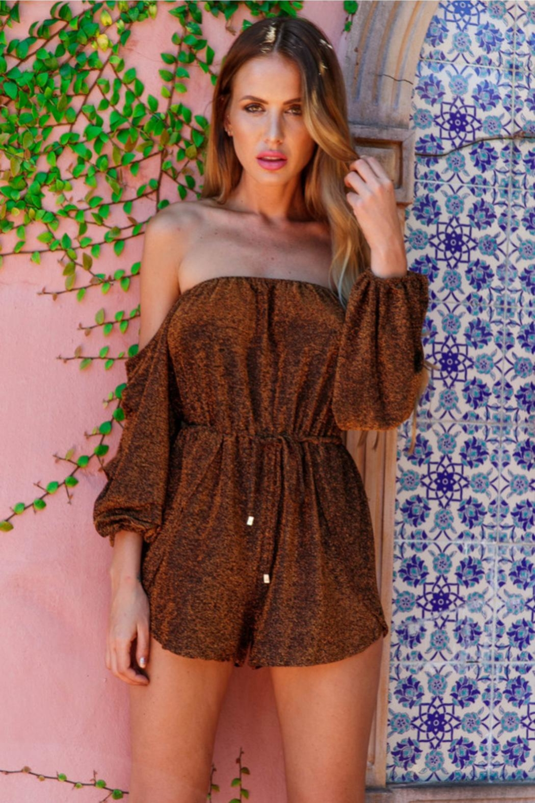 Rumor Cabana Playsuit - Front Full Image