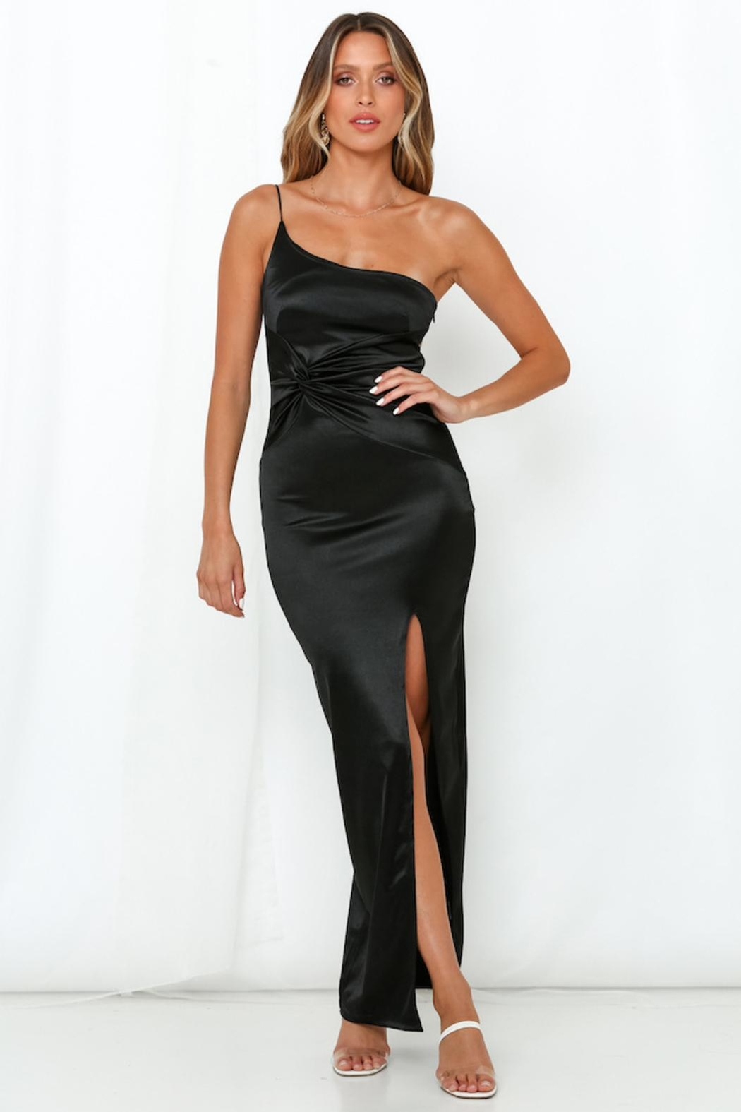 Rumor Lonique One Shoulder - Front Cropped Image