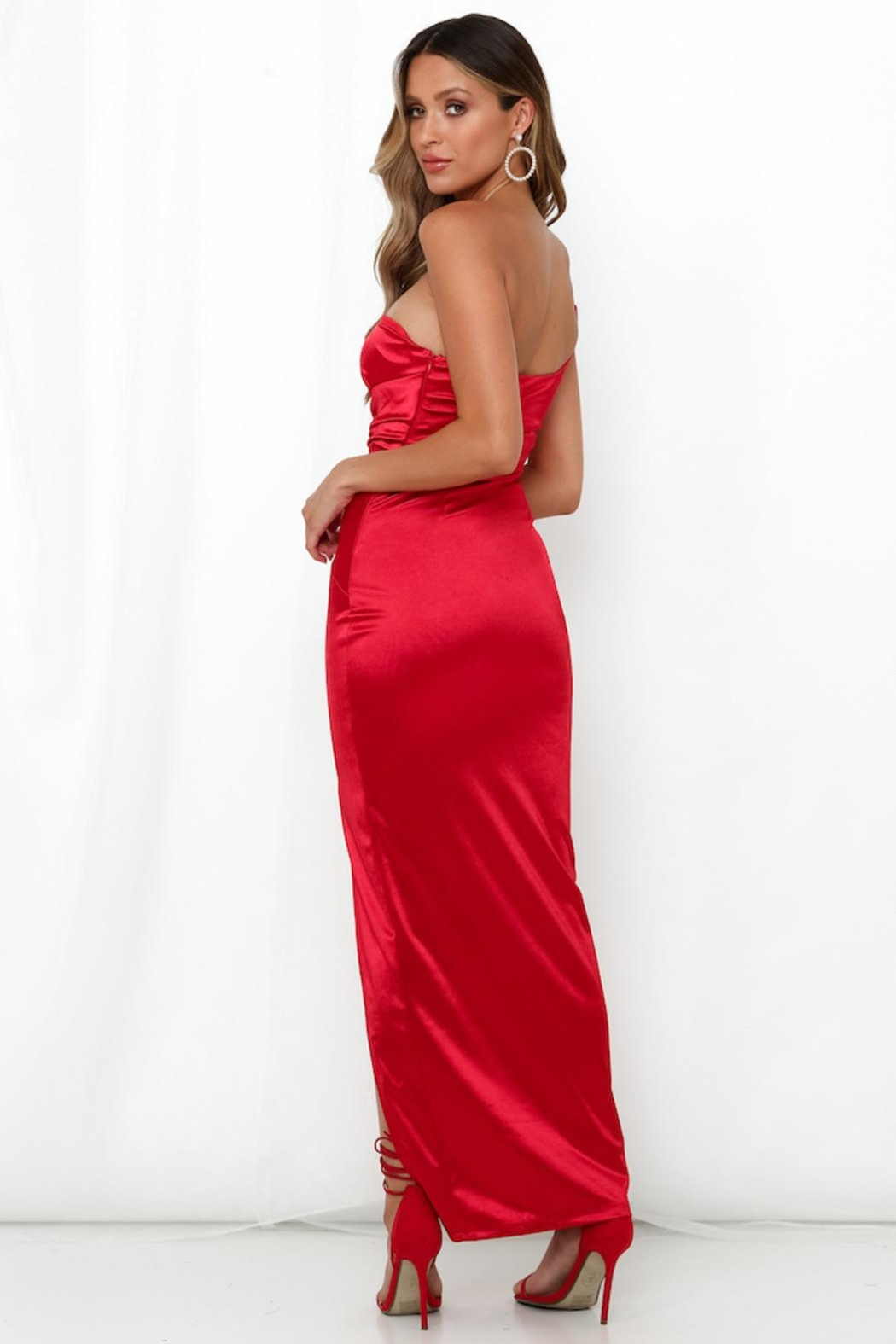 Rumor Lonique One Shoulder - Front Full Image