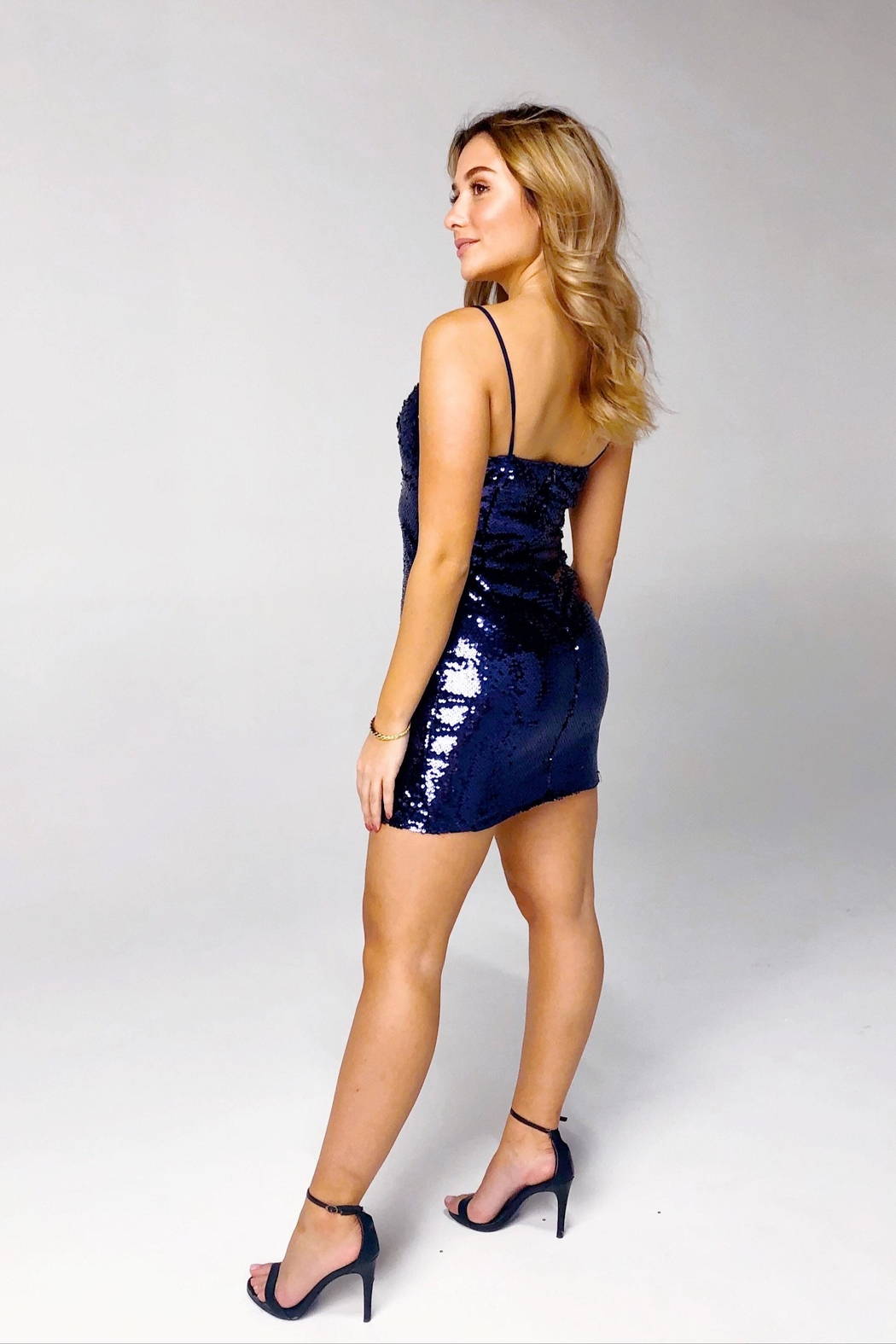 Rumor Vegas Mini Dress - Back Cropped Image