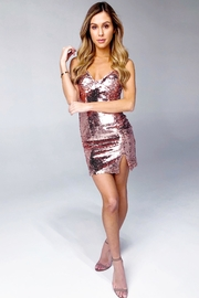 Rumor Vegas Mini Dress - Front full body