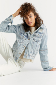 Free People Rumors Denim Jacket - Product Mini Image