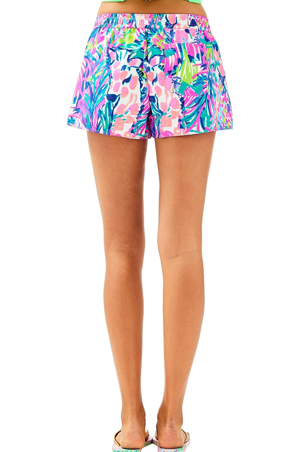 Lilly Pulitzer Run Around Short - Front Full Image