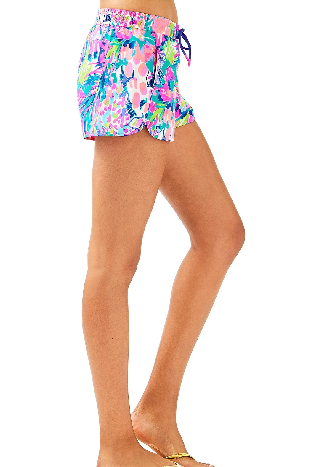 Lilly Pulitzer Run Around Short - Side Cropped Image