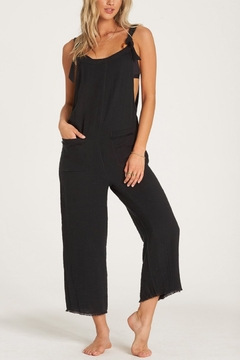 Billabong Run Wild Cropped Overall - Product List Image