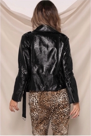 Runaway The Label Panther Jacket - Black - Back cropped