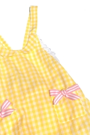 Runaway Pony Gingham Sunsuit - Front full body